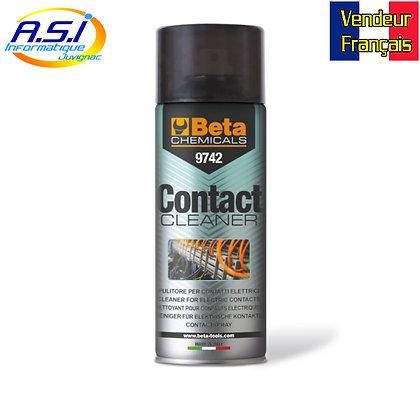 Nettoyant contact Electronique informatique Professionnel Beta Chemicals 400 ml
