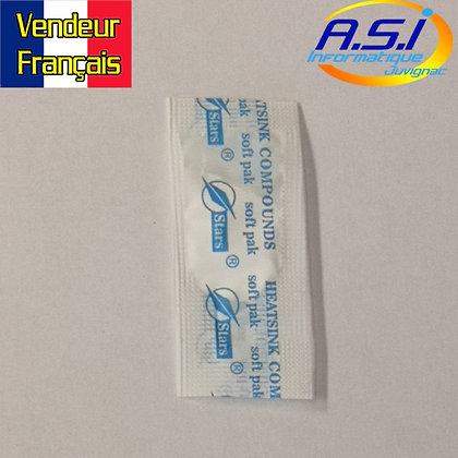 1 dose (sachet) de Pate / graisse thermique blanche STARS