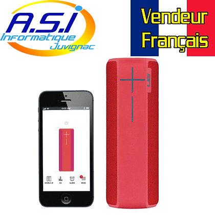 Enceinte sans Fil Ultimate Ears Boom 2  Portable Bluetooth Rose Rouge