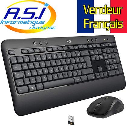Kit clavier souris sans fil Logitech MK 540 advanced