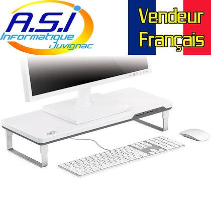 Support écran ordinateur PC Mac Imac pc portable Imprimante usb + son