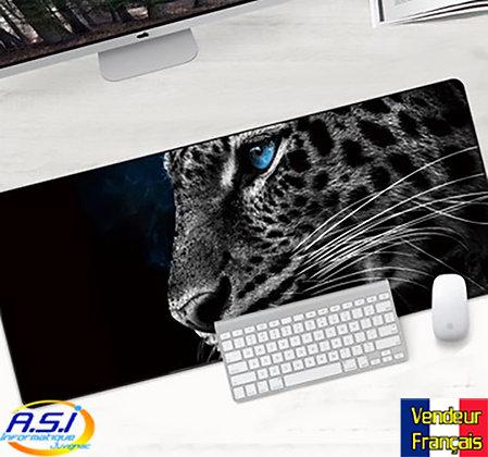 Grand Tapis de souris Gamer ordinateur Gaming Chat Lynx Leopard Panthère félin