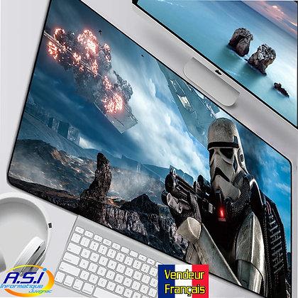 Grand Tapis de souris Gamer ordinateur Gaming Stormtroopers