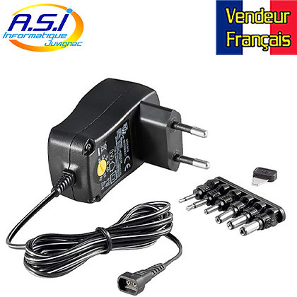 Transformateur Electrique Alimentation alim réglable 3 v à 12 Volts VENDEUR FR