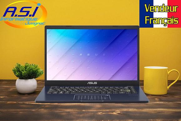 "Ordinateur Portable Asus 14"" HD Pentium 4 Go Ram - SSD 128Go Windows 10s AZERTY"
