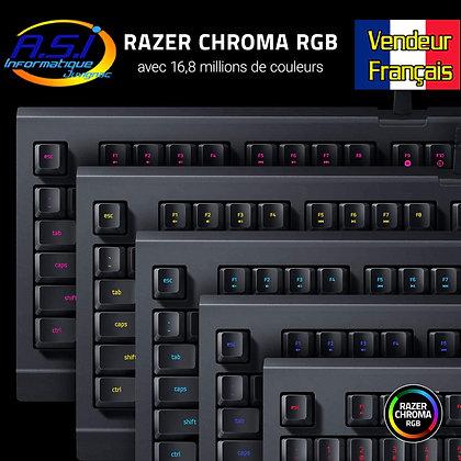 Clavier Programmables à membranes RAZER RGB Rétro-éclairé pour Gamer Gaming