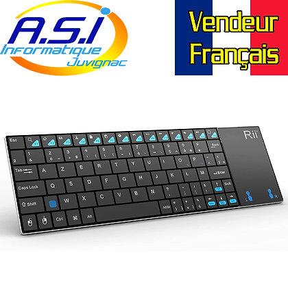 Mini clavier + PAD sans fil pour Smart TV, Android TV, Raspberry, Kodi