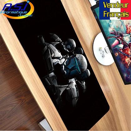 Grand Tapis de souris Gamer ordinateur Gaming The Mandalorian