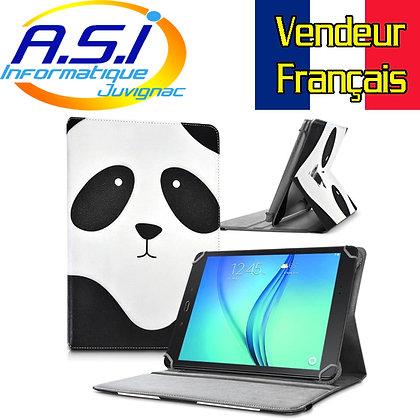 """Etui universel Housse universelle tablette 10"""" pouces Panda"""