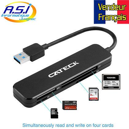 Lecteur multi carte mémoire USB 3.0 SD Micro-SD TF Memory stick SDXC SDHC ...