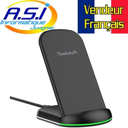 Chargeur sans Fil Station accueil à Induction pour Smartphone téléphone