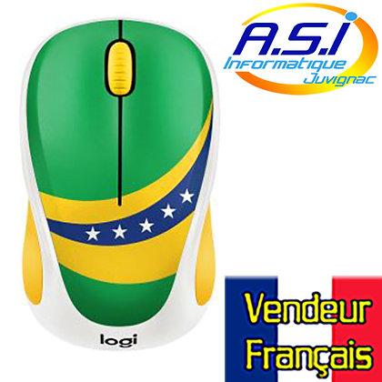 Souris Sans-fil Logitech Brésil Brasil VENDEUR FRANÇAIS