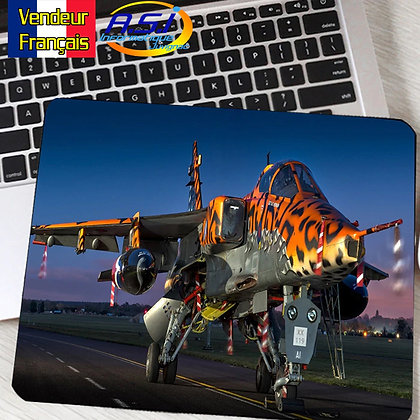 Tapis de souris Ordinateur Avion Aviation chasseur tigre