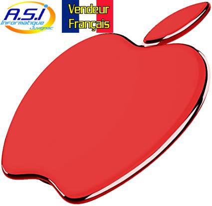Chargeur sans Fil Station accueil à Induction Smartphone téléphone Pomme Rouge