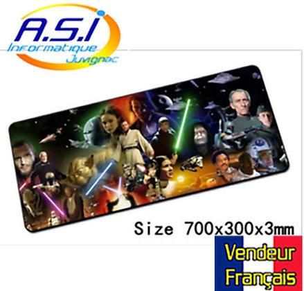 Tapis de souris Star Wars XXL (Grand format) Jedi Sabre Laser VENDEUR FRANÇAIS