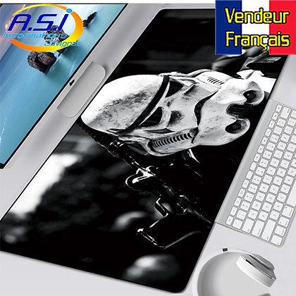 Tapis de souris Gaming Star Wars Stormtrooper XL Grand format VENDEUR FRANÇAIS