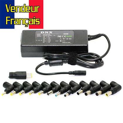 Alimentation chargeur universel PC ordinateur Portable 90W Vendeur Français