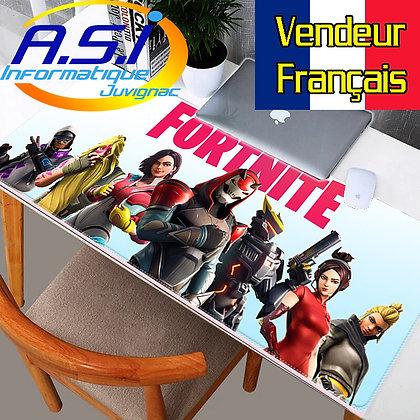 Grand Tapis de souris Blanc Gamer Gaming Joueurs ordinateur jeu Fortnite XL