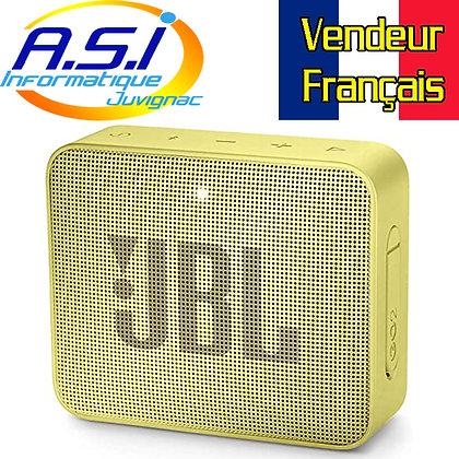 Mini Enceinte Bluetooth portable JBL GO 2 Jaune  - Étanche pour piscine & plage