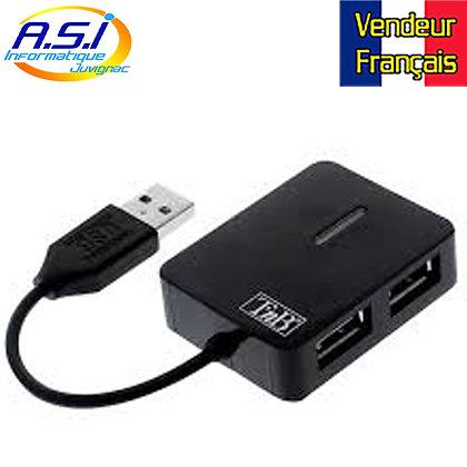 Hub Switch Splitter T'nB USB 4 ports pour Ordinateur PC MAC Linux VENDEURFRANÇA