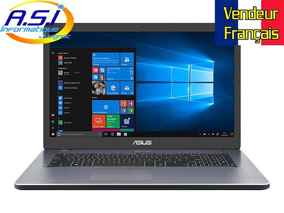"Ordinateur PC Asus 17"" N5030 4Gb Ram 256 Go SSD Windows 10"