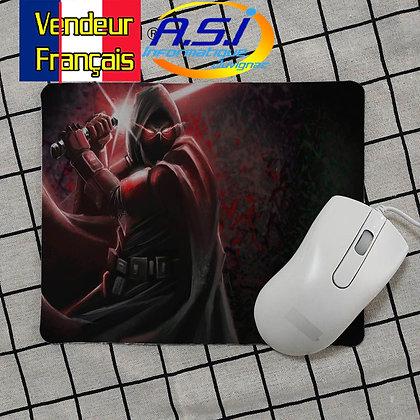 Tapis de souris Gaming gamer Star Wars Sabre laser rouge