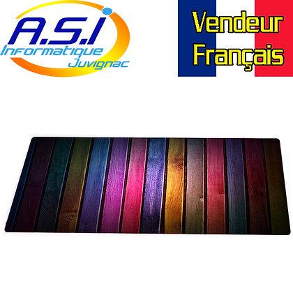 Tapis de souris Gaming Multicolore XXL Grand format VENDEUR FRANÇAIS