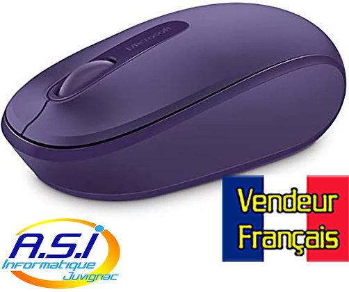 Souris Sans-fil Microsoft 1850 violette (violet) VENDEUR FRANÇAIS