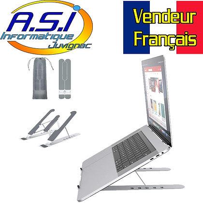 Support Pliable inclinable Ergonomique Ordinateur PC Mac (Macbook) portable