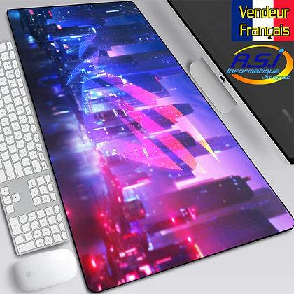 Grand Tapis de souris XL Asus Républic of Gamer Gaming Joueur Jeu PC Mac