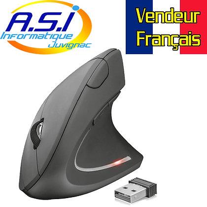 Trust Verto Souris sans Fil, USB, Verticale, Ergonomique