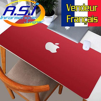 Tapis de souris Gaming Pomme XL Grand Format rouge gamer VENDEUR FRANCAIS