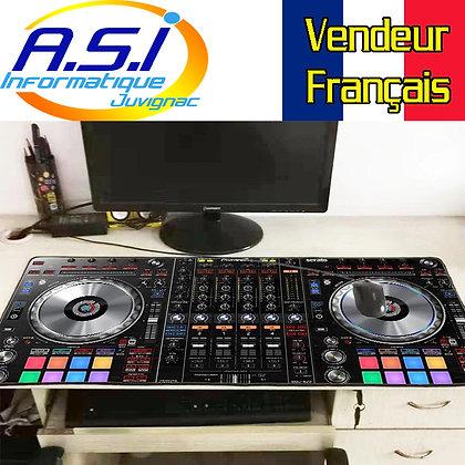 Grand Tapis de souris Gaming table Mixage disc-jockey Gamer XL  VENDEUR FRANÇAIS