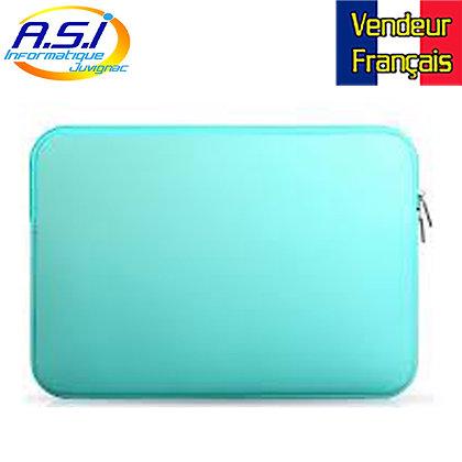 """Housse bleu ordinateur PC portable et Apple Mac MacBook 14"""" VENDEUR FRANÇAIS"""