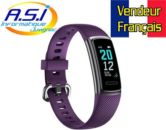 Montre Connectée Bracelet Connecté, Tracker Activité Cardio Running ip68 Sommeil