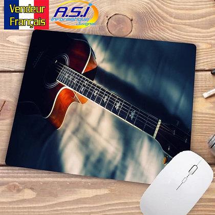 Tapis de souris Gaming gamer XL Musicien Guitare acoustique Musique