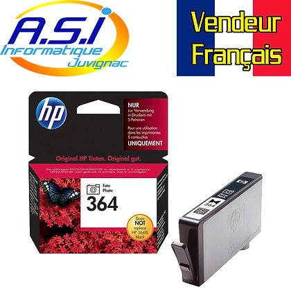 Cartouche d'encre HP 364 NOIR photo (black)