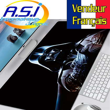Tapis de souris Gaming Star Wars Dark Vador XXL Grand format VENDEUR FRANÇAIS