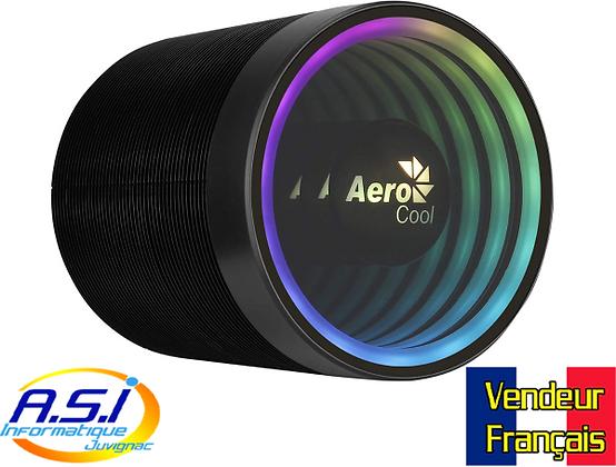 Ventirad / Ventilateur CPU Processeur Aerocool led Multicouleur Intel / AMD