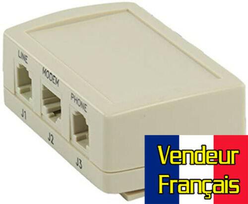 Filtre ASDL RJ45 Maitre HQ HQBF-T024 Vendeur Français