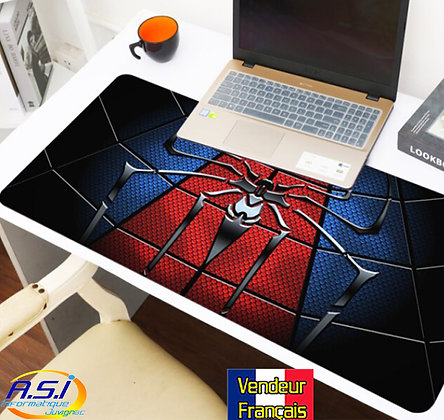 Grand Tapis de souris Gamer ordinateur Gaming Araignée Spiderman Spider