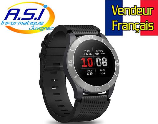 Montre connectée bracelet Tracker activité Compteur pas Cardio Sommeil Notif...
