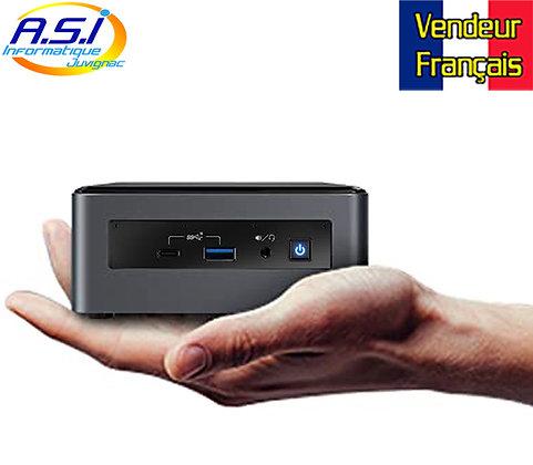 Mini ordinateur PC intel Nuc Core I3 génération 10 256 Go SSD 4Gb Ram Win 10