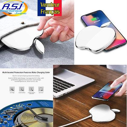 Chargeur sans Fil Station accueil à Induction Smartphone téléphone Pomme