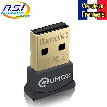Clé Adaptateur Dongle USB Bluetooth Qumox compatible Windows VENDEUR FRANÇAIS