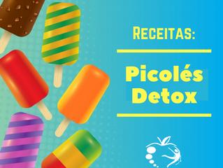 Receitas: Picolés Detox
