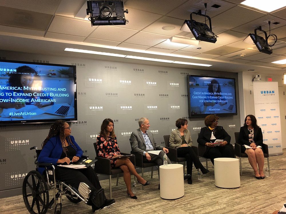 "Michelle Singletary, columnist at the Washington Post, moderated a panel at the Urban Institute in D.C. for an event earlier this month entitled ""Credit in America: Myth Busting and Case Making to Expand Credit Building for Low-Income Americans"". Details below."
