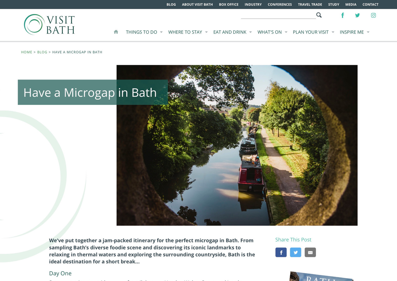 Have a Microgap in Bath