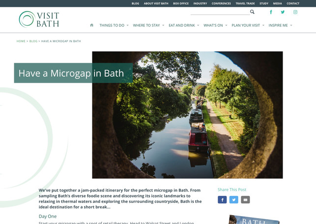 Have a Microgap in Bath
