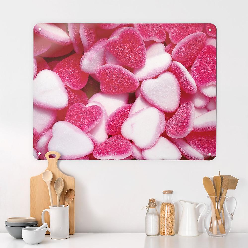 Heart Sweets Magnetic Wall Art